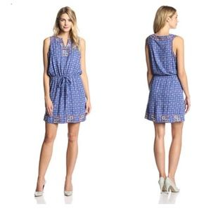 Lucky Brand Irving & Fine- Embroidered dress